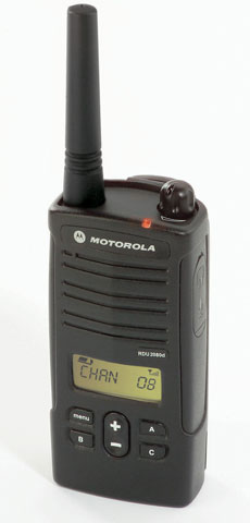 Motorola RDU2080D Two-way Radio