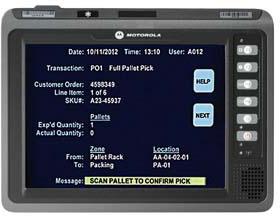 Motorola VC 70N0 Terminal