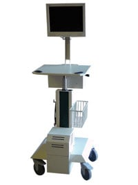 Newcastle Systems KW Series Medical Mobile Cart