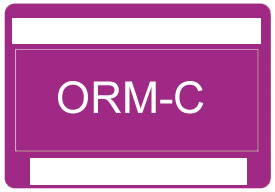 Other Regulated Material ORM-C Label