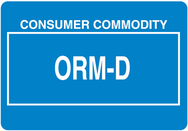 Other Regulated Material ORMD Label