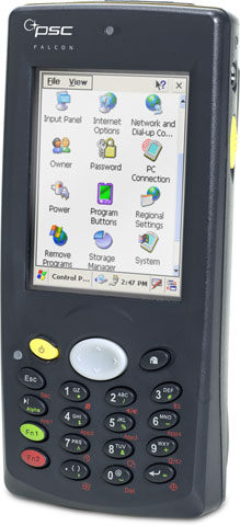 PSC Falcon 4220 Hand Held Computer
