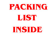 Packing Packing Slip Inside Label