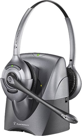 Plantronics CS361N Binaural SupraPlus Wireless Professional Headset System Noise-Canceling