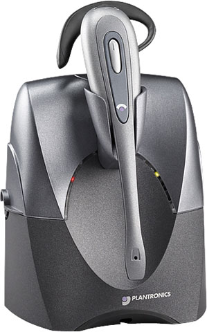 Plantronics CS55 Wireless Office Headset System with Lifter