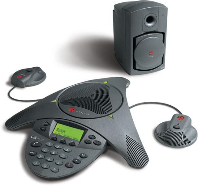 Polycom Sound Station VTX1000 Telecommunications Products