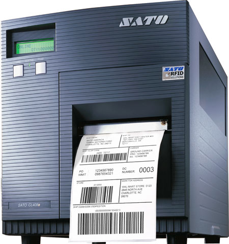 SATO CL408 e RFID RFID Printer