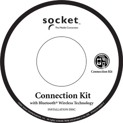 Socket BlueSoleil Software Hand Held Computer