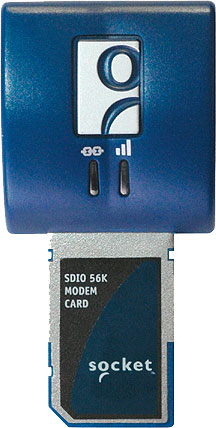 Socket SDIO 56K Modem Card V.92 Hand Held Computer