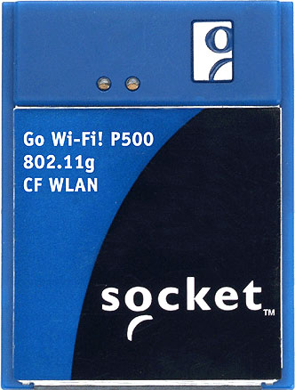Socket Go Wi-Fi! P500 Hand Held Computer