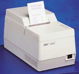 Star SP300 Series: SP322 Printer