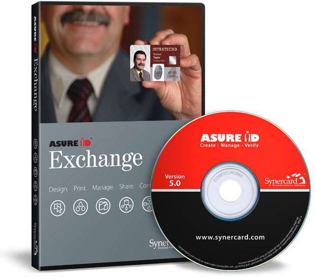Synercard Asure ID Exchange ID Card Software