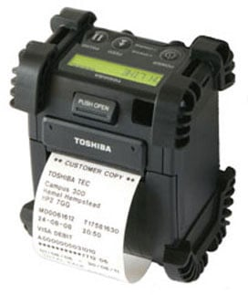 Toshiba TEC B-EP 2 Portable Printer