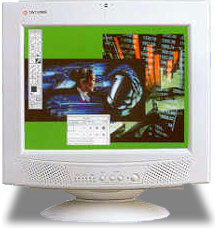 Tatung CRT Touch Monitor Touch screen Monitor
