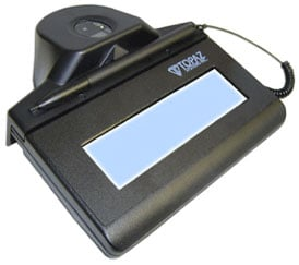 Topaz IDLite LCD 1x5 Optical Signature Capture Pad