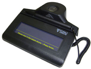 Topaz IDLite 1x5 Optical Signature Capture Pad
