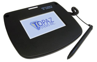 Topaz Signature Lite Color 4.3 Signature Capture Pad