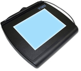 Topaz Signature Gem 4x5 LCD Signature Capture Pad