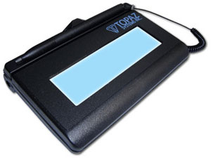 Topaz Signature Lite 1x5 LCD Signature Capture Pad