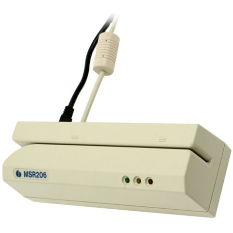 Unitech MSR206 Card Scanner