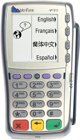 VeriFone Vx810 Payment Terminal