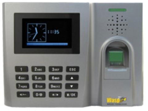 Wasp B2000 Biometric Time Clock Video Access Control System