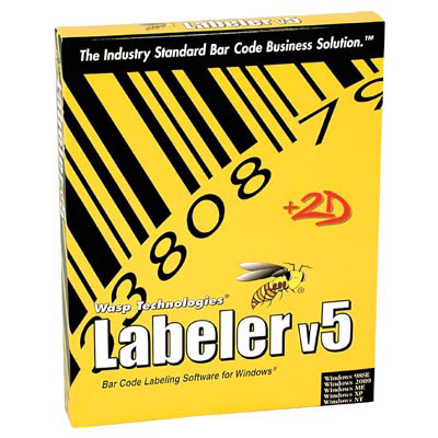 Wasp Barcode Labeler Bar code Software