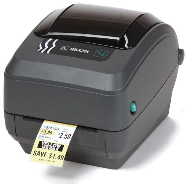 Zebra GK 420 t Printer