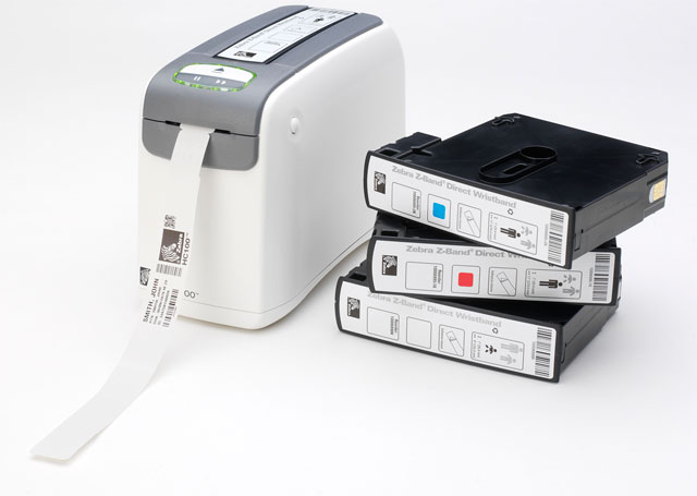 Zebra HC 100 Wristband Printer