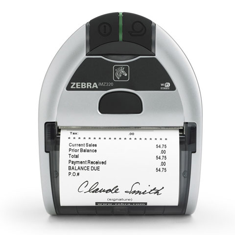 Zebra iMZ320 Portable Printer