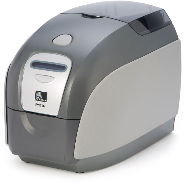 Zebra P110 i ID Card Printer System ID Card Printer System