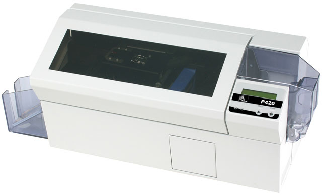 Zebra P420C ID Printer