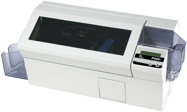 Zebra P420 i Printer System ID Card Printer System