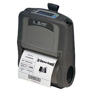 Zebra QL420 Plus Portable Printer