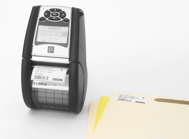 Zebra QLn 220 Portable Printer