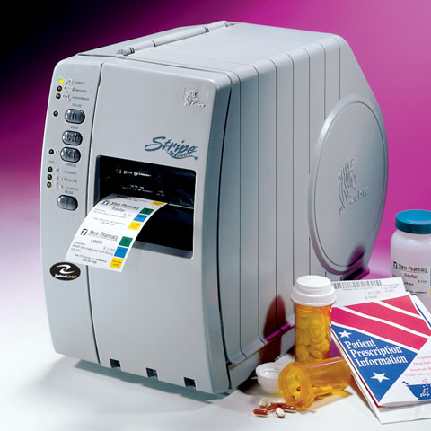 Zebra Stripe S400 Printer
