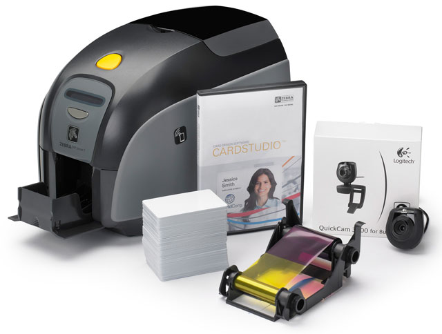 Zebra ZXP 1 ID Card Printer System ID Card Printer System
