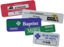 Photo of BCI Printed Foil Labels