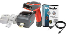 Photo of BCI Shipping Label Barcode System