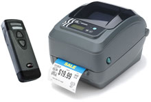 Photo of BCI Scan and Print Barcode System