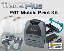 Photo of BCI ZEB-P4T-TP-WM Thermal Transfer Label Printing Kit