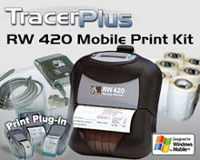 Photo of BCI ZEB-RW420-TP-WM Mobile Label/Receipt Printing Kit