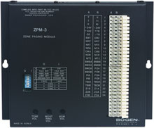 Photo of Bogen ZPM-3 3-Zone Paging Module