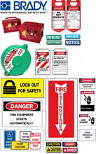 Photo of Brady WorkPlace Safety and Security Accessories