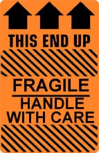 Photo of Caution Fragile Handle With Care - This End Up