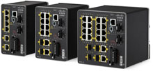Photo of Cisco Industrial Ethernet 2000 Series Switches