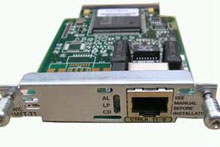 Photo of Cisco Multiflex Voice/WAN Interface Card