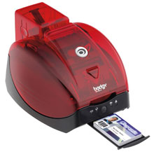 Photo of Evolis Badgy ID Card Printer System