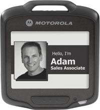 Photo of Motorola SB1 Smart Badge