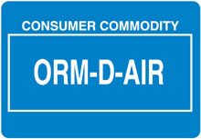 Photo of Other Regulated Material ORMD-AIR